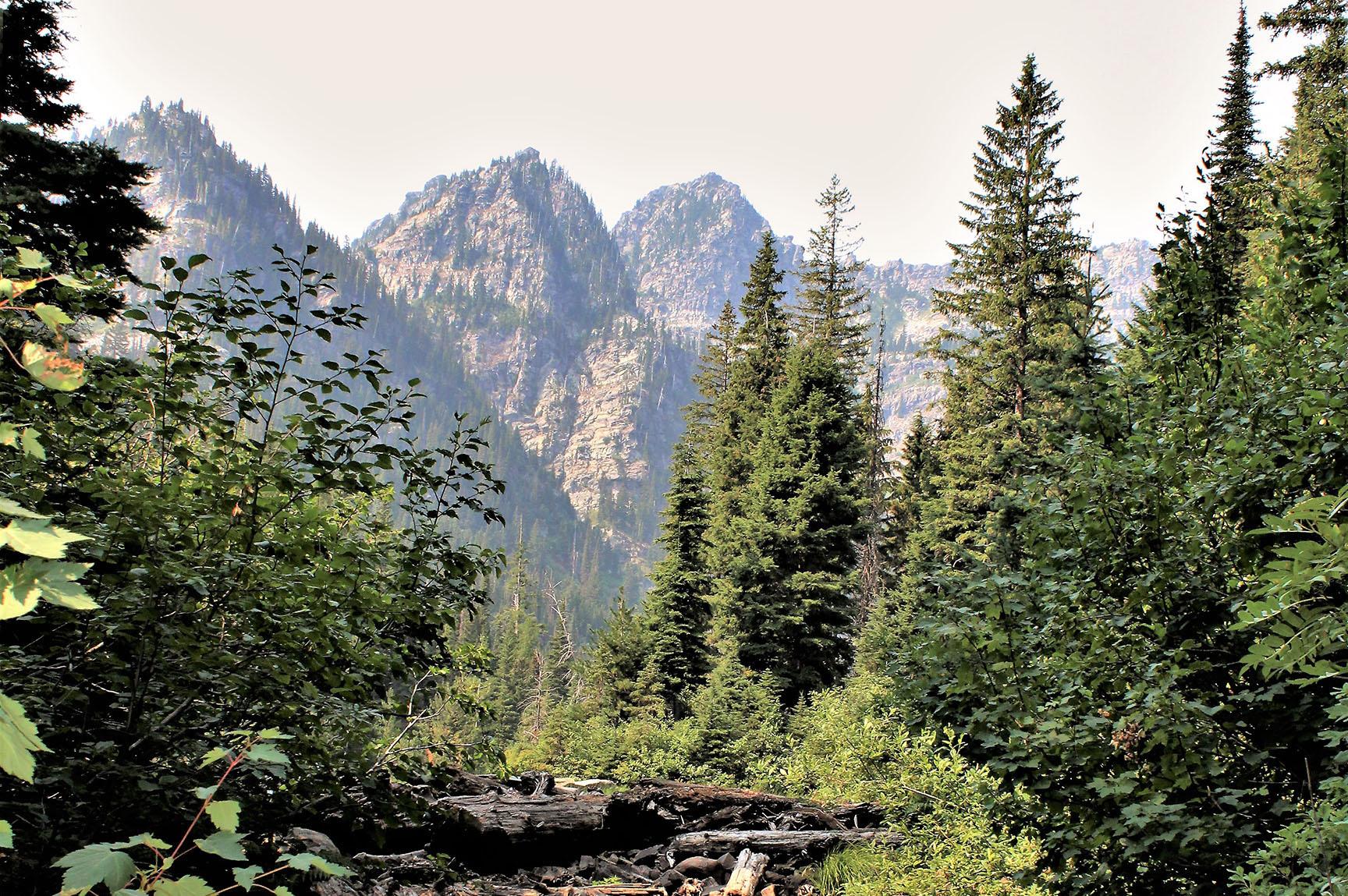 Lower Geiger Lake Glacier Insurance libby troy eureka montana